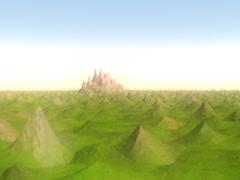 Spiky Landscape MMsmall - stock footage