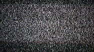 Television Static Black and White Stock Footage