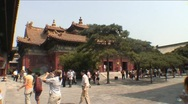 Stock Video Footage of Lama temple (Yonghe Gong)