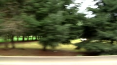 Driving Sideways Background - stock footage