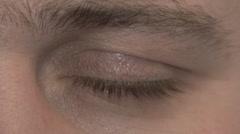 eye - stock footage