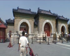 Tian Tan complex, Temple of Heaven Stock Footage