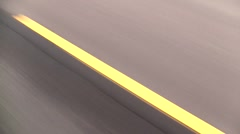 Traffic Lane Divider - stock footage