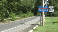 Stock Video Footage of Interstate Signs (1 of 2)
