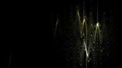 Flare wave lighting in dark background,tech energy field,glass,stars,lightning, Stock Footage
