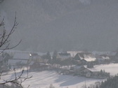 Winter in the Alps Stock Footage