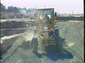 Stock Video Footage of CONSTRUCTION GRADER