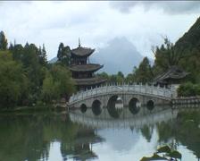 Heilong Tang Gongyuan, Black Dragon Park Stock Footage