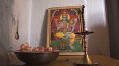 Praying place, Sri Lanka Stock Footage