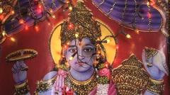 Lakshmi goddes, Sri Lanka Stock Footage