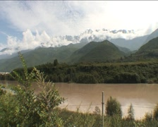 Jade Dragon Mountain Stock Footage