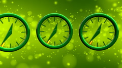 Time Flies - Time Lapse Clock 10 (HD) - stock footage