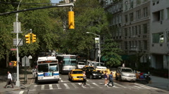 Streets of New York Stock Footage