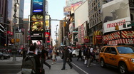 Stock Video Footage of Times Square, New York
