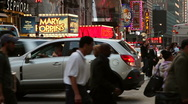 Busy street in New York Stock Footage