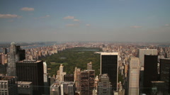 View from Rockefeller Tower - stock footage