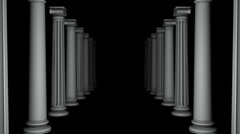 Column Loop Stock Footage