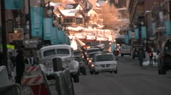 Main Street at Sundance FF - stock footage