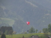 Stock Video Footage of Paraglider