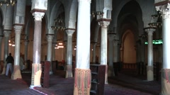 Great Mosque, Kairouan, Tunisia Stock Footage