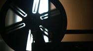 8mm film Reel 02 Stock Footage