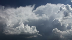 cumulus convection - stock footage