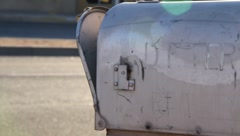 Old mailbox Stock Footage