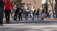 UNM Students Stock Footage