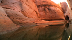 Canyons of Lake Powell - stock footage