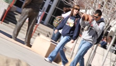 College campus 2870 Stock Footage