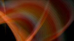 Smooth silk yarn smoke laser ray light particle design pattern symbol dream. Stock Footage
