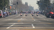 Stock Video Footage of Police open - Martin Luther King Parade - Los Angeles 2011