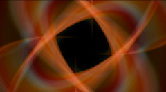 Abstract whirl star flower pattern background,light space,tunnels energy. Stock Footage