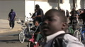 Bikers - Martin Luther King Parade - Los Angeles 2011 Footage