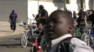Bikers - Martin Luther King Parade - Los Angeles 2011 Stock Footage