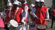 Marching Band - Martin Luther King Parade - Los Angeles 2011 Stock Footage