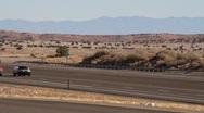 Stock Video Footage of Highway Truckers