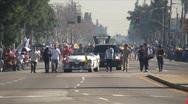 Stock Video Footage of Mayor Antonio Villaraigosa - Martin Luther King Parade - Los Angeles 2011