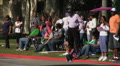 Marching band passes - Martin Luther King Parade - Los Angeles 2011 HD Footage