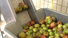 Apple wine press - stock footage