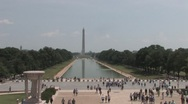 Stock Video Footage of National Mall in Washington D.C.