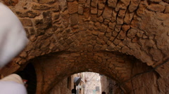 Acre arch street P1 - stock footage
