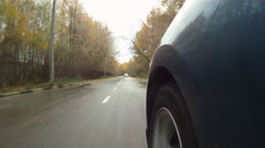 Driving Car - stock footage