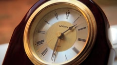 Time at 1:30, Clock GFHD Stock Footage