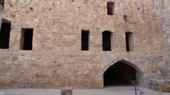 Acre castle P3 Stock Footage