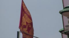 Venetian City State Flag Stock Footage