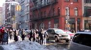 New York City Firetruck  Stock Footage