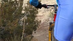 Mountain Bikers 11 Stock Footage