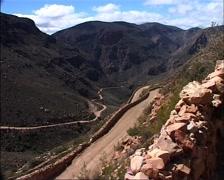 Swartberg Pass, Karoo GFSD Stock Footage