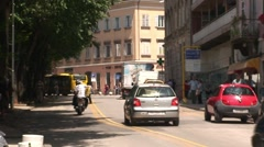 Pula Traffic - stock footage